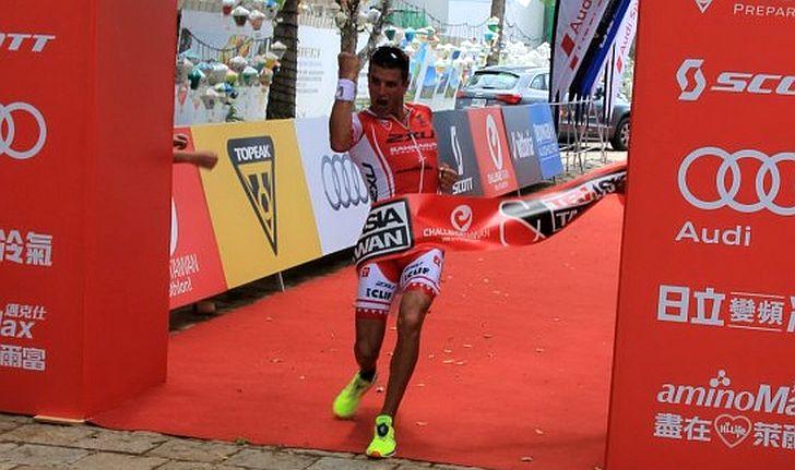 Terenzo Bozzone vince il Challenge Taiwan 2015