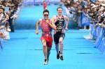 Javier Gomez batte Alistair Brownlee all'ITU World Triathlon Yokohama del 16 maggio 2015