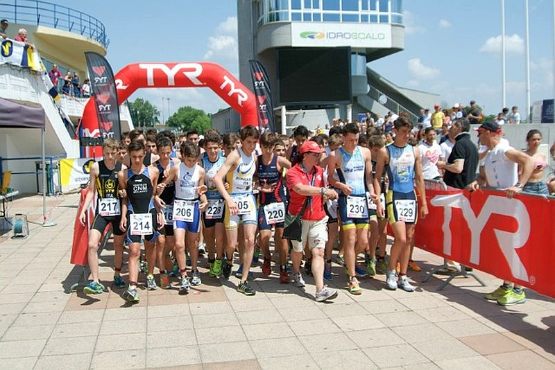 La carica dei 500 all'Idraquathlon