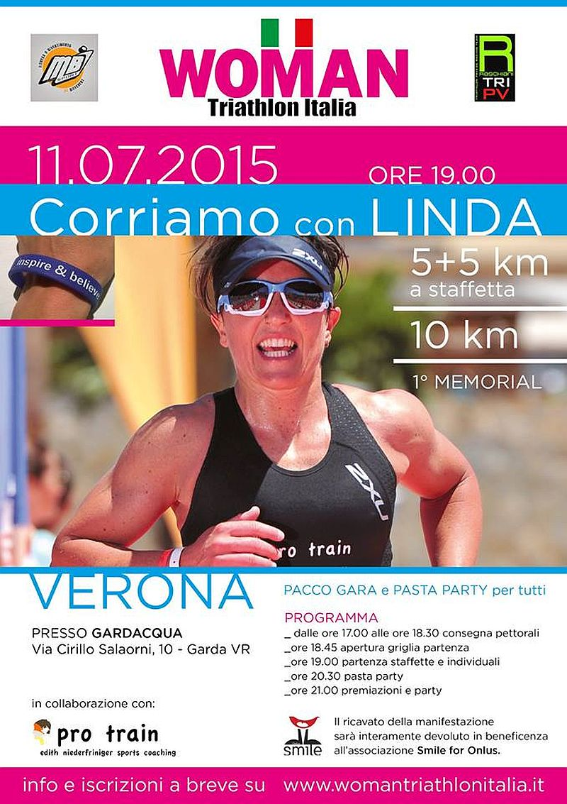L'11 luglio corriamo insieme per Linda!