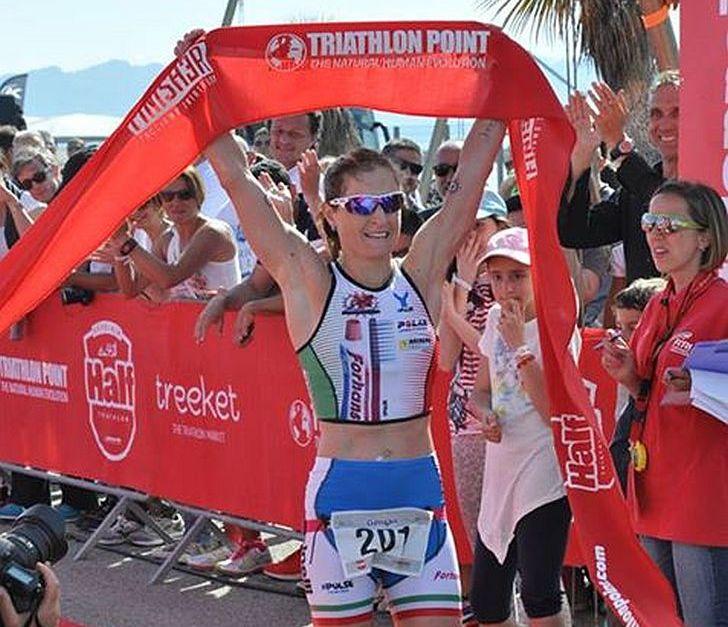 Martina Dogana e Massimo Cigana vincono il 1° Sardinia Half Triathlon