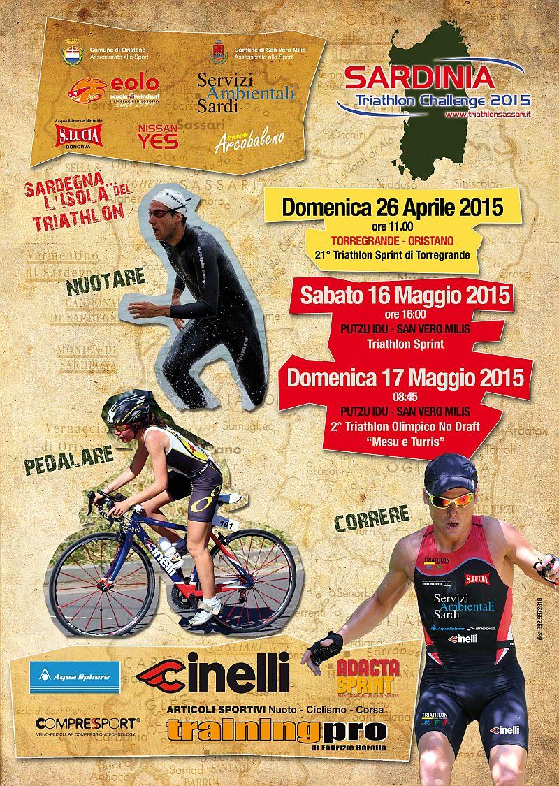 Al Sardinia Triathlon Challenge la due giorni del Triathlon Putzu Idu