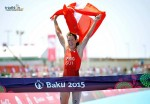 Sabato 13 giugno 2015, Nicola Spirig vince i Baku European Games 2015 e si porta a casa la qualifica per Rio 2016!