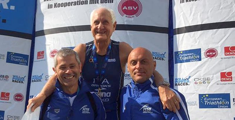 Medaglie Age Group agli Europei di Aquathlon di Colonia