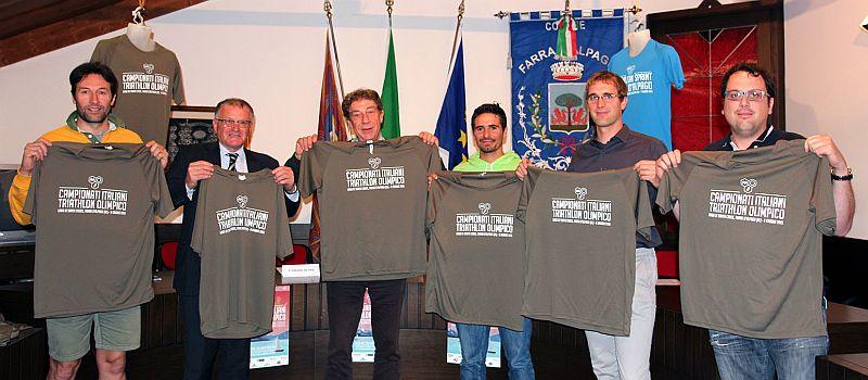 Al via a Farra d'Alpago i Campionati Italiani di Triathlon Olimpico