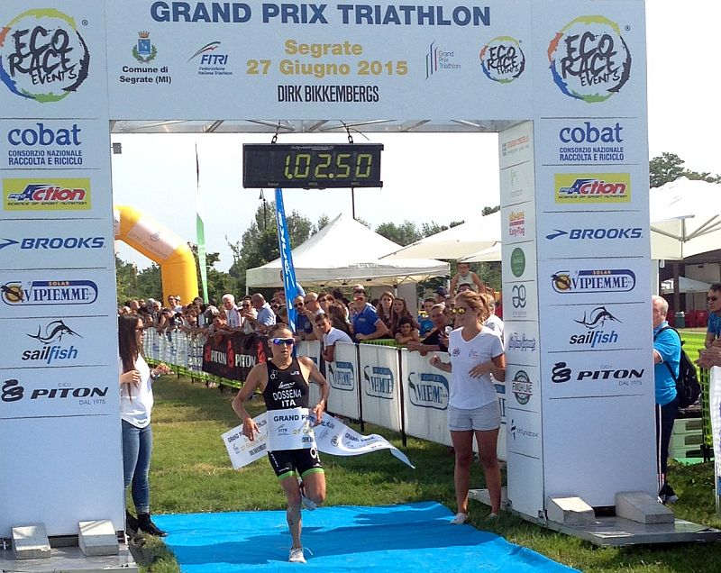 Il Grand Prix Triathlon Italia incendia Segrate