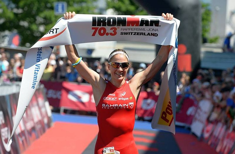 Daniela Ryf domina l'Ironman 70.3 Switzerland 2015 e termina 13^ assoluta!