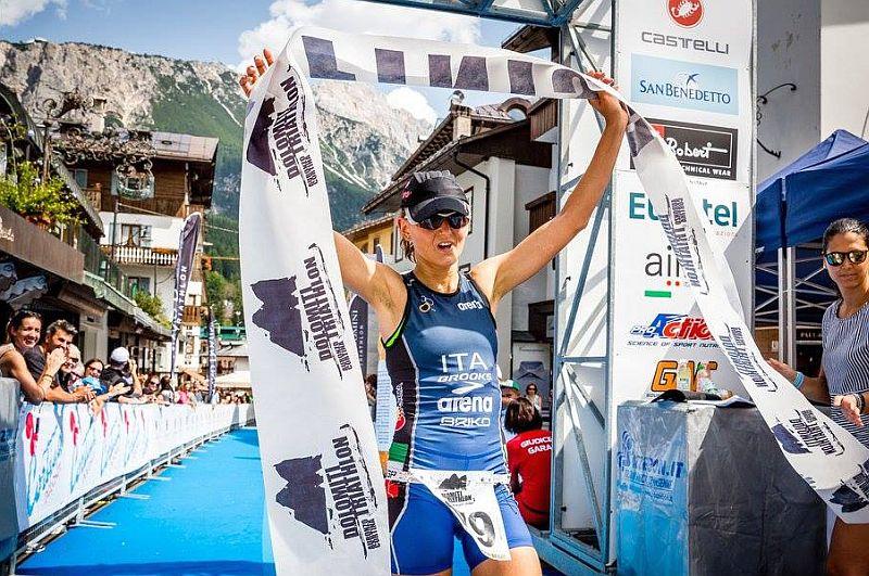 Chiara Ingletto vince anche la 2^ edizione del Dolomiti Triathlon