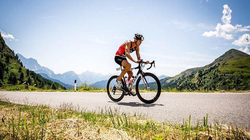 Luca Facchinetti e Chiara Ingletto al Dolomiti Triathlon