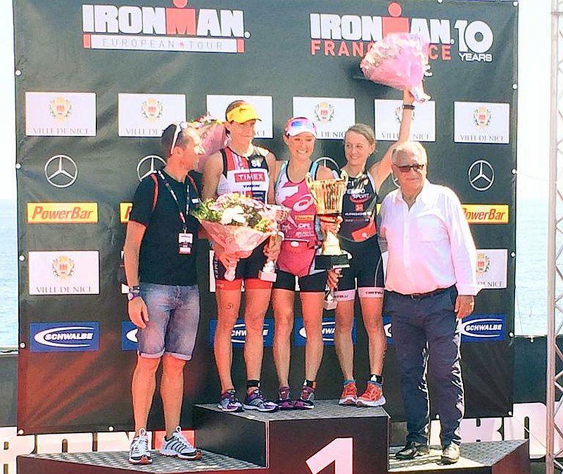 I 156 #ITAFinisher all'Ironman France 2015