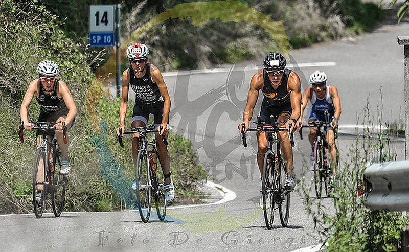 La frazione bike del Triathlon Olimpico di Iseo