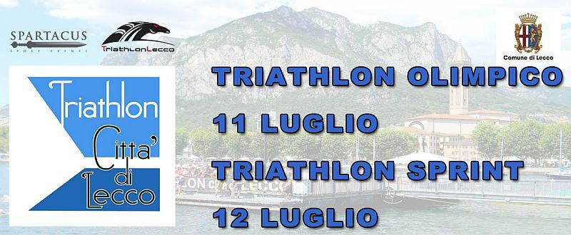 Chiudono le iscrizioni al Triathlon Città di Lecco Sprint