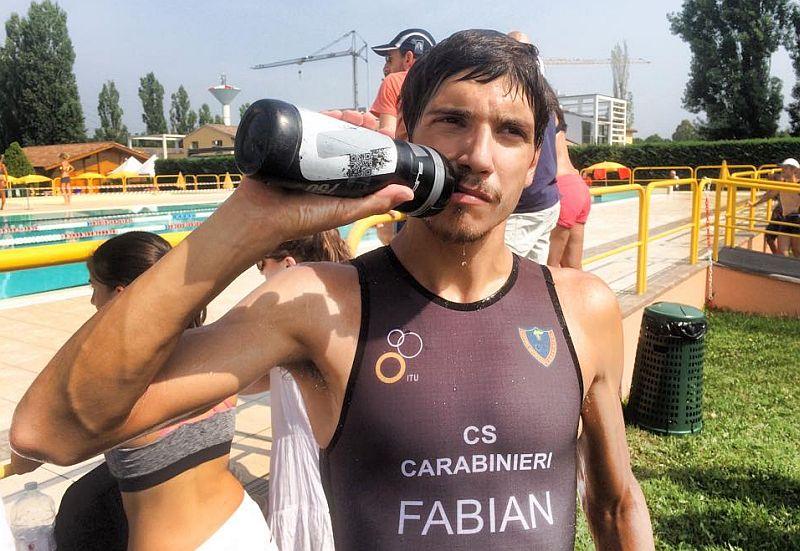 Alessandro Fabian pronto per gli Europei Triathlon di Ginevra