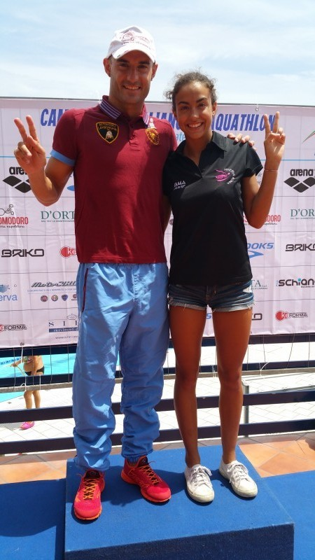 Risultati Campionati Italiani Aquathlon Napoli