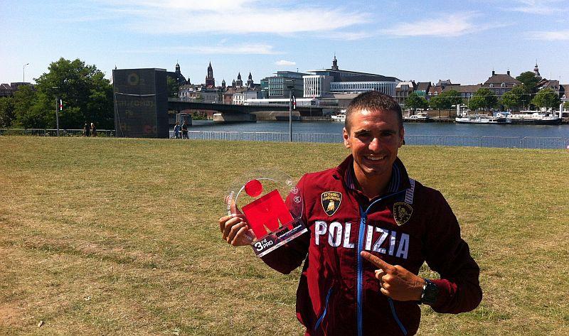 Alberto Casadei 3° all'Ironman Mastricht, 38 #ITAFinisher