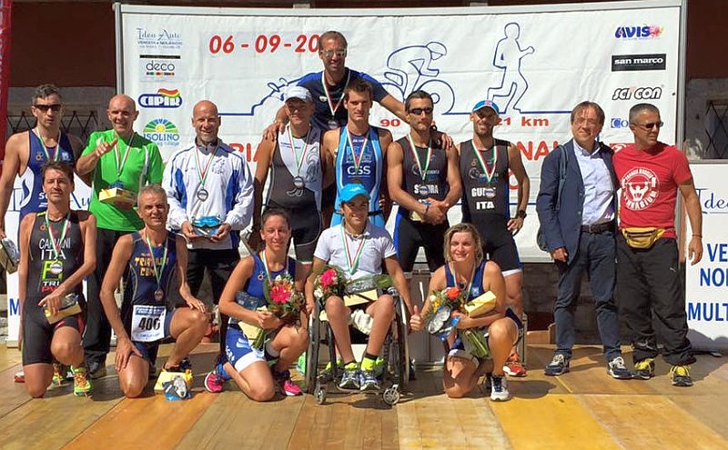 Il 20° Triathlon Internazionale di Mergozzo a Dogana e Cigana