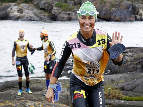 Pippa Middleton all'Otillo Swimrun 2015!