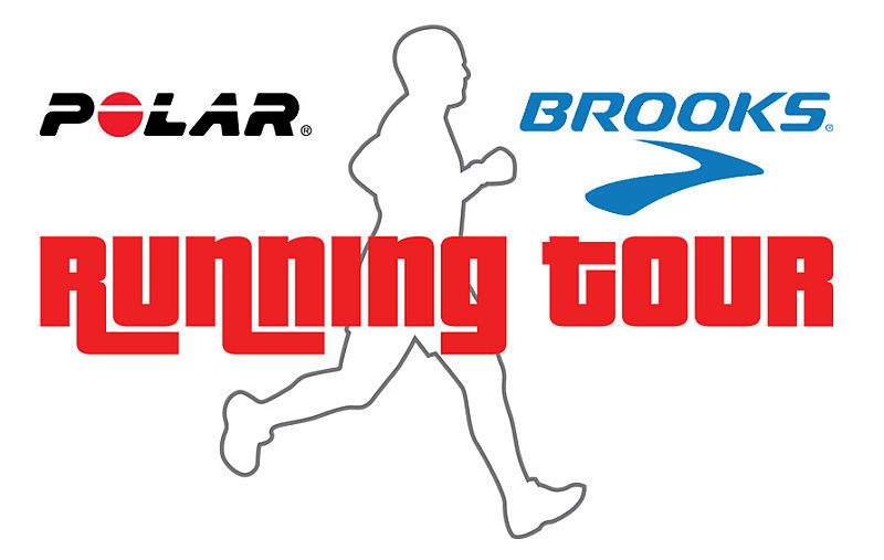 Brooks e Polar in tour con i runner