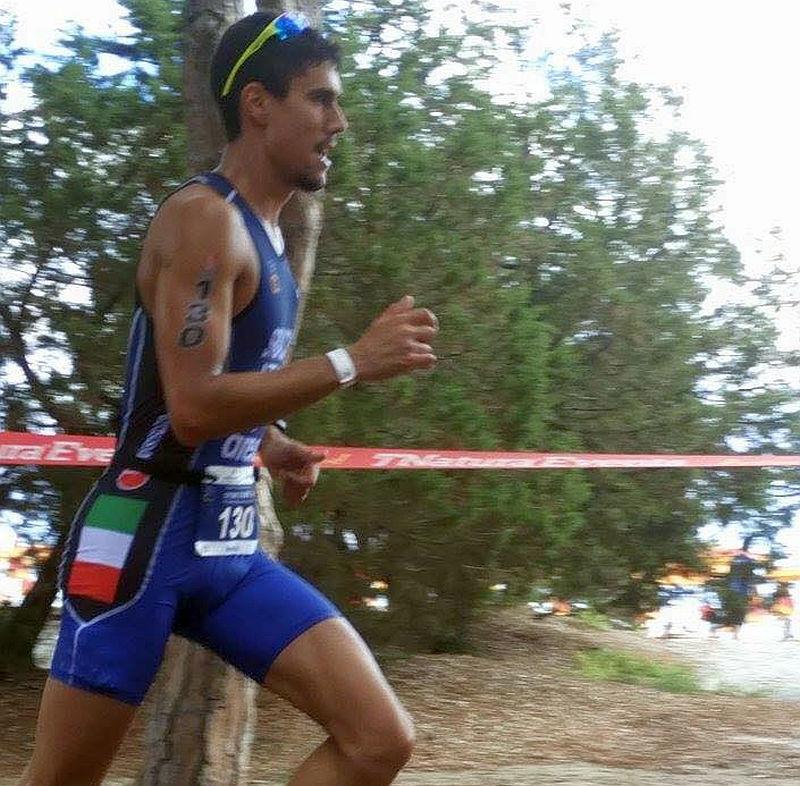 Marco Spadaccia in azione nella frazione di trail run al TNatura Sardegna 2015