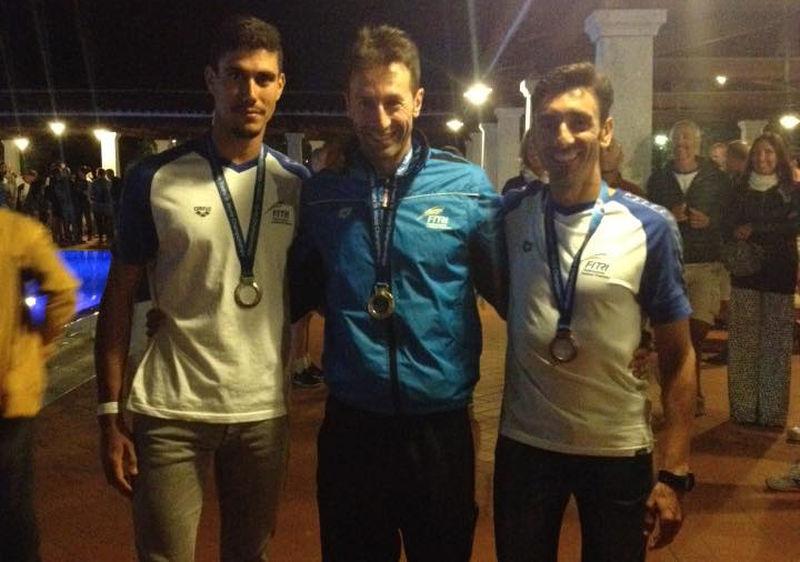 Gianpietro De Faveri, il Maestro, è oro M45, mentre Alessandro Bonalumi conquista il bronzo M40