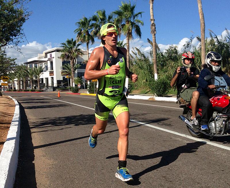 Il ruggito di Davide all'Ironman 70.3 Los Cabos