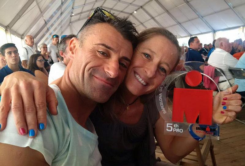 I 106 azzurri all'Ironman Barcelona, Martina Dogana 5^