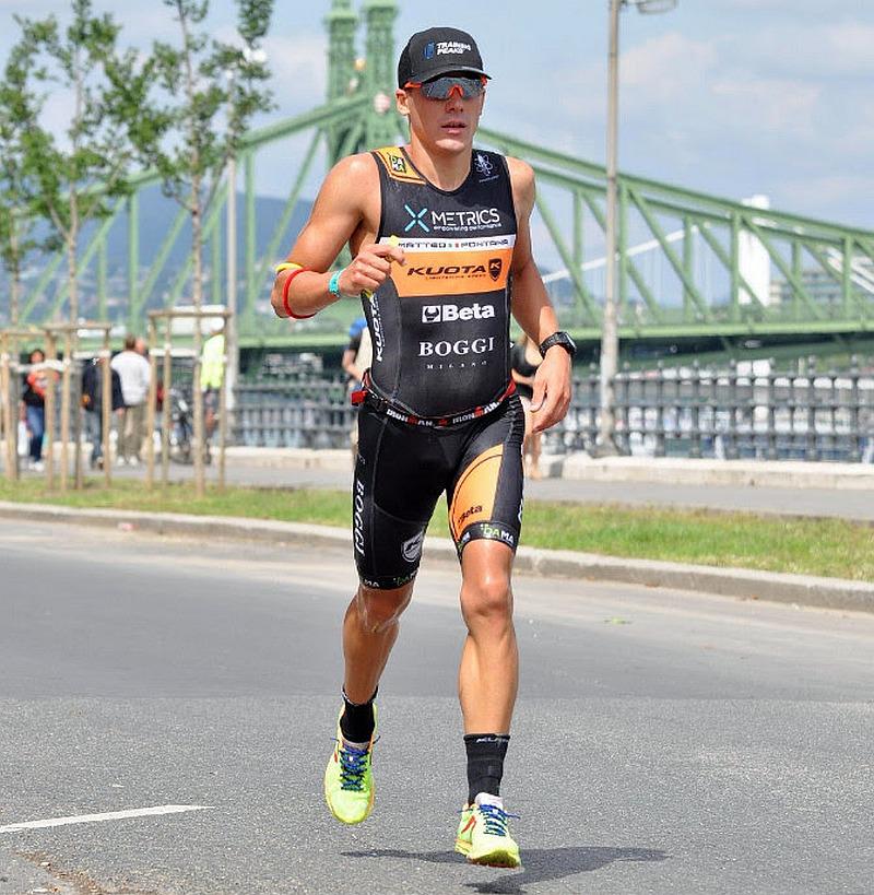 Matteo Fontana pronto per l'Ironman Barcelona