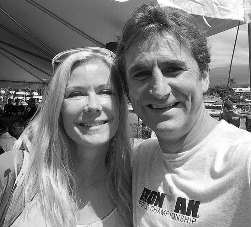Alex Zanardi con Equipe Enervit pronto per Ironman Hawaii
