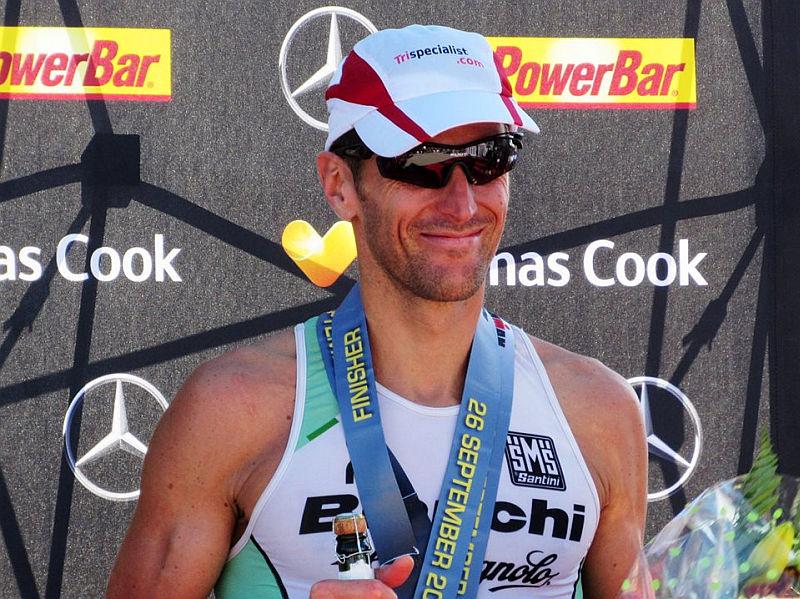 Ironman Mallorca con tanto azzurro, il Dega 3°!