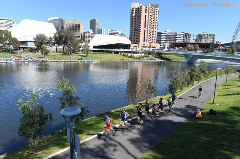 La splendida Adelaide ha ospitato i Mondiali 2015 di duathlon
