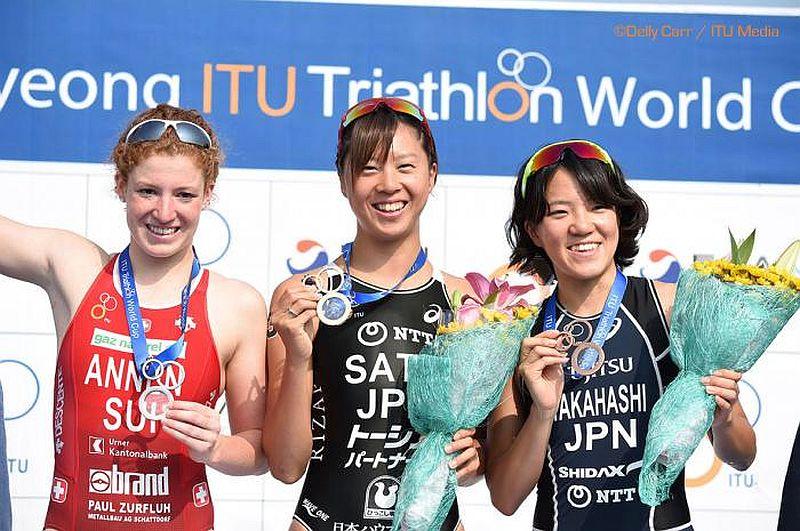 A Tongyeong, ultima ITU World Cup a Yuka Sato e Matthew Sharp
