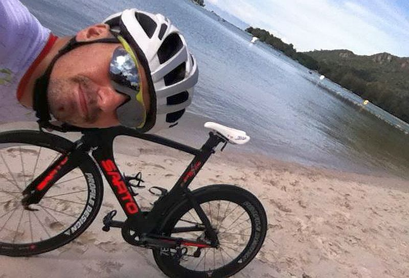 Alberto Casadei 4° all'Ironman Malaysia