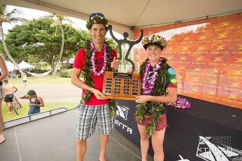 Gli iridati 2015 di XTERRA Maui: Josiah Middaugh e Flora Duffy