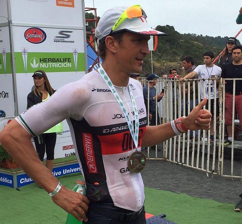 Daniel Fontana quarto all'Herbalife Ironman 70.3 Pucon