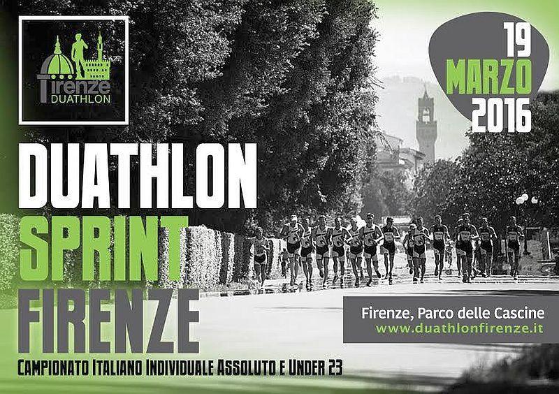Programma e percorsi degli Italiani di Duathlon di Firenze