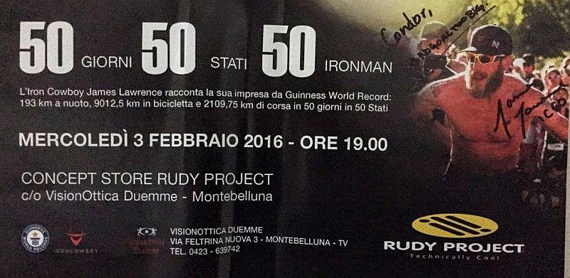 Iron Cowboy il 3 febbraio a Montebelluna per la sua prima italiana