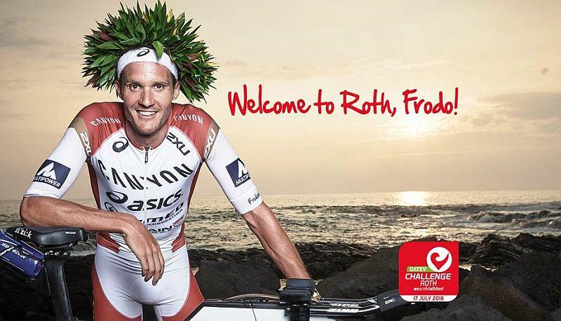 Jan Frodeno al Challenge Roth vuole il nuovo record!