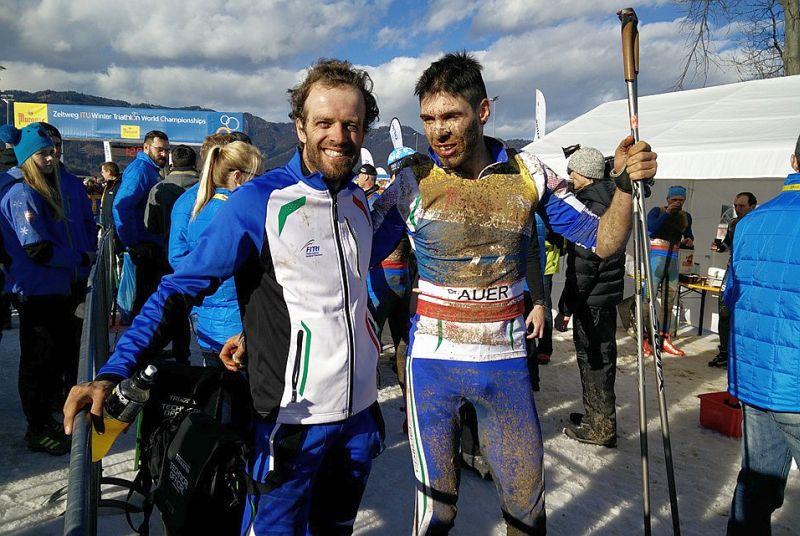 Flash Mondiali Winter Triathlon: Lamastra bronzo Elite, Vuerich argento U23!