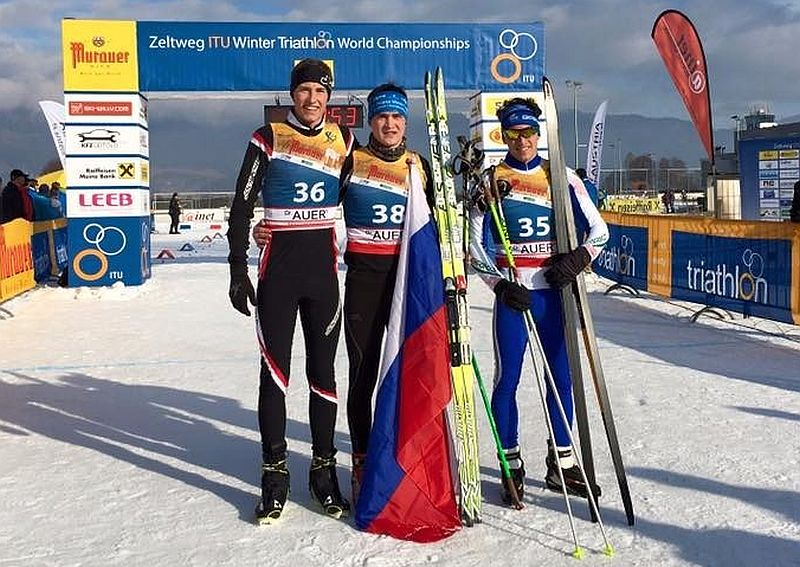 Flash Mondiali Winter Triathon: bronzo per Marco Liporace!