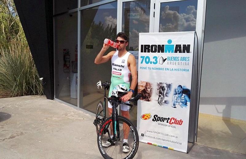 Fontana e Degasperi all'Ironman 70.3 Buenos Aires