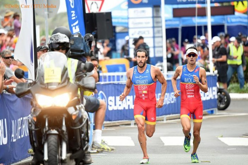 Doppietta per Mario Mola e Jodie Stimpson all'ITU World Cup Mooloolaba