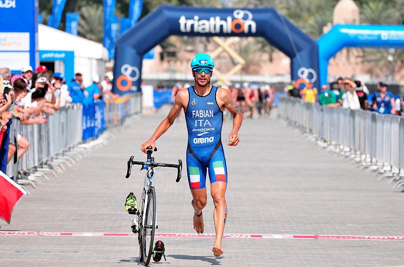 Alessandro Fabian corre da protagonista ad Abu Dhabi