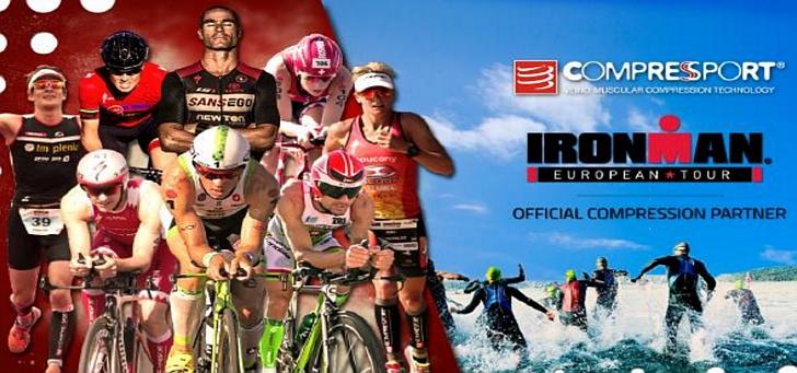 Partnership siglata tra Ironman® e Compressport®
