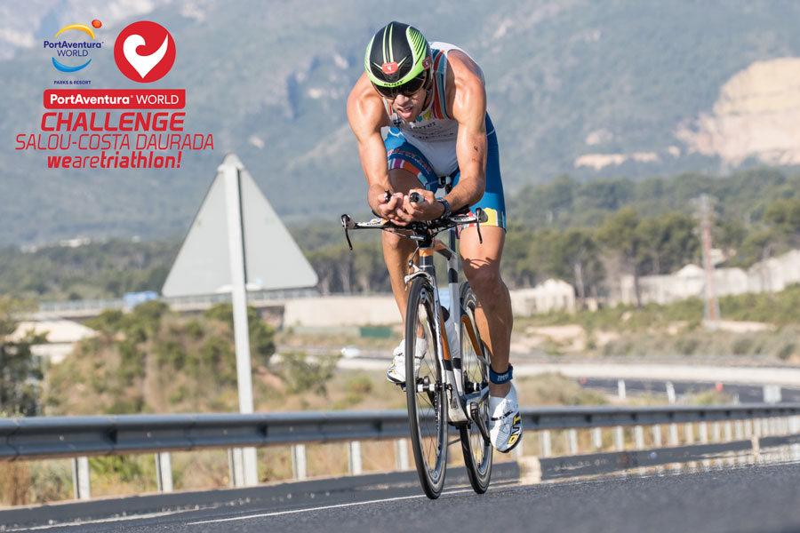 Ivan Rana al via del PortAventura World Challenge Salou Costa Daurada