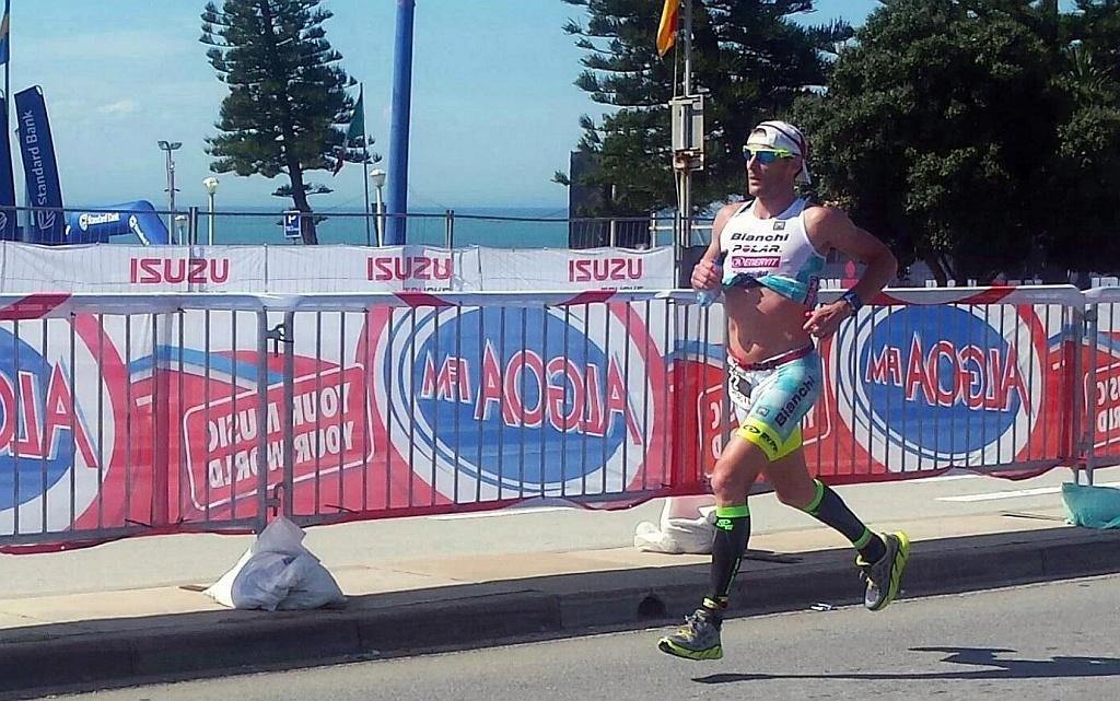 Alessandro Degasperi 7° all'Ironman South Africa