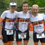 Tre finisher dell'Irondelta di Primavera 2016