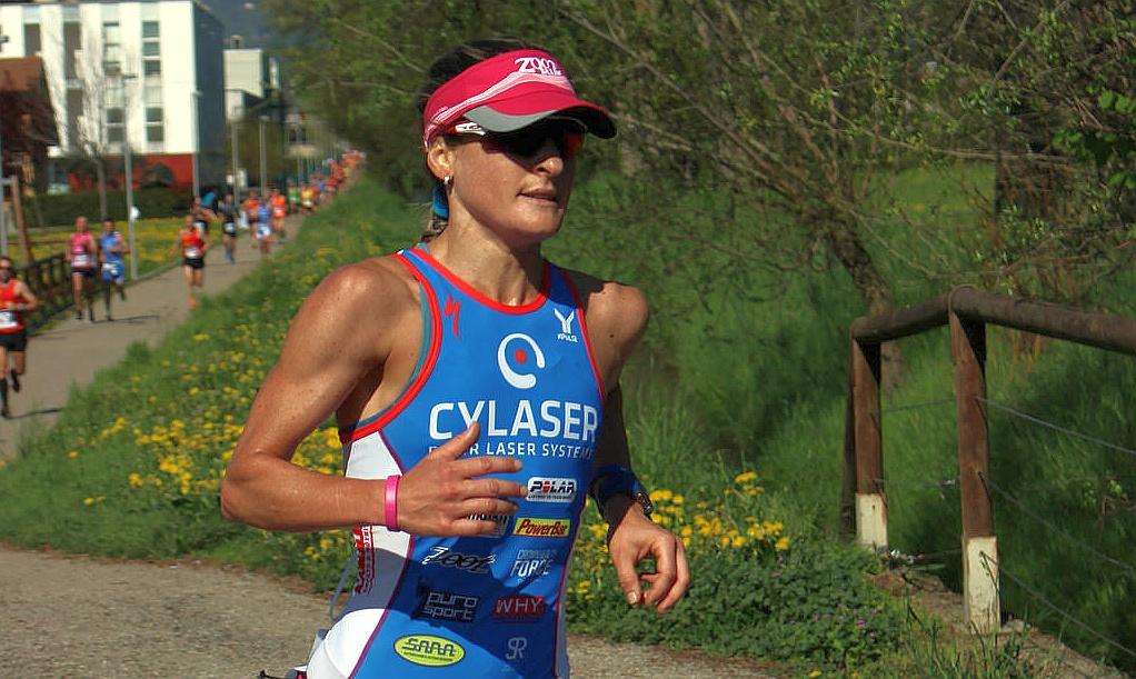 Martina Dogana pronta per il Chia Laguna Half Triathlon