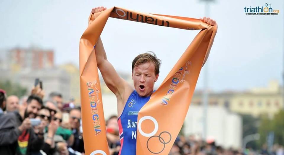 I big del triathlon all'ITU World Cup Cagliari