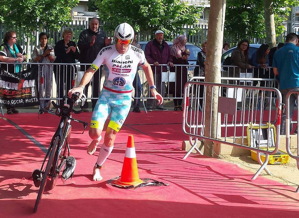 Alessandro Degasperi 5° all'Ironman 70.3 Barcelona
