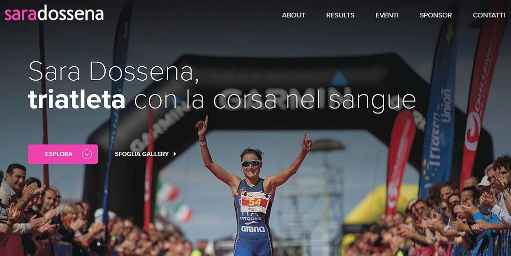 Il nuovo sito di Sara Dossena on line
